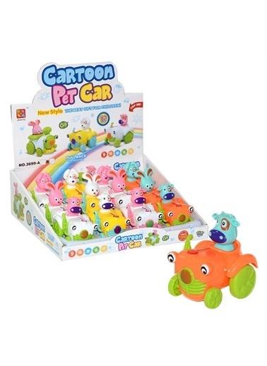 Birlik Oyuncak Birlik Oyuncak 0163699B Çek Bırak Çocuk Oyuncağı Hayvanlar Renkli